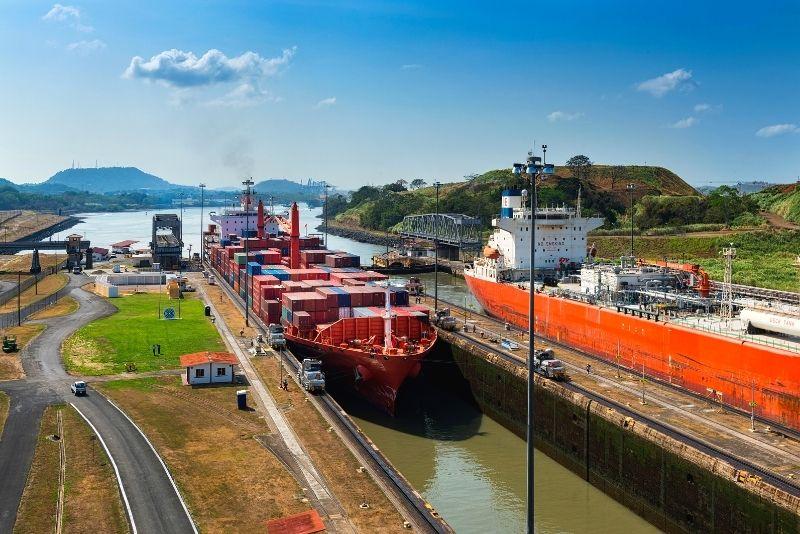 Panama Canal, Panama City
