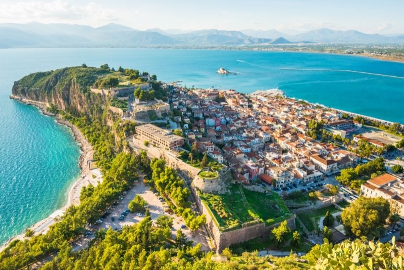 Peloponnese day trips from Athens