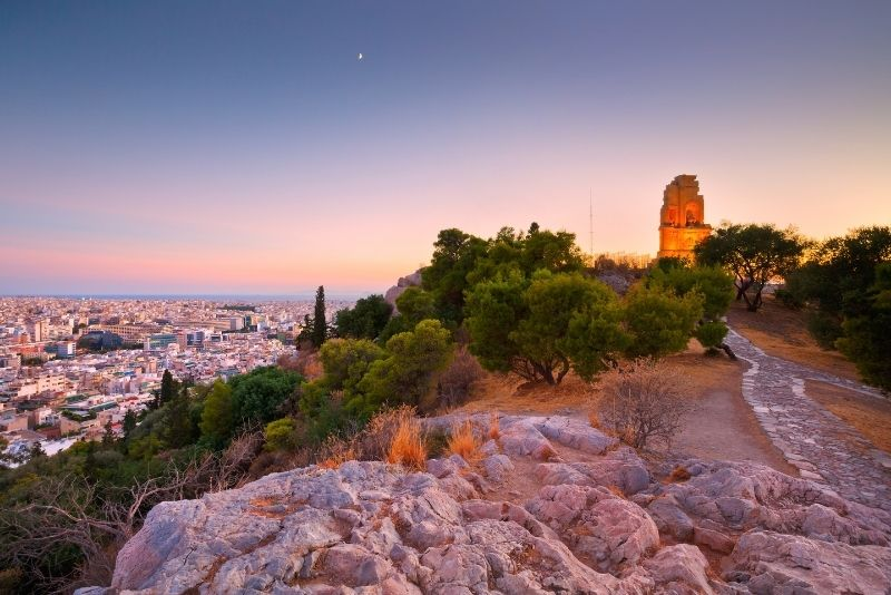 Philopappos Hill, Athens