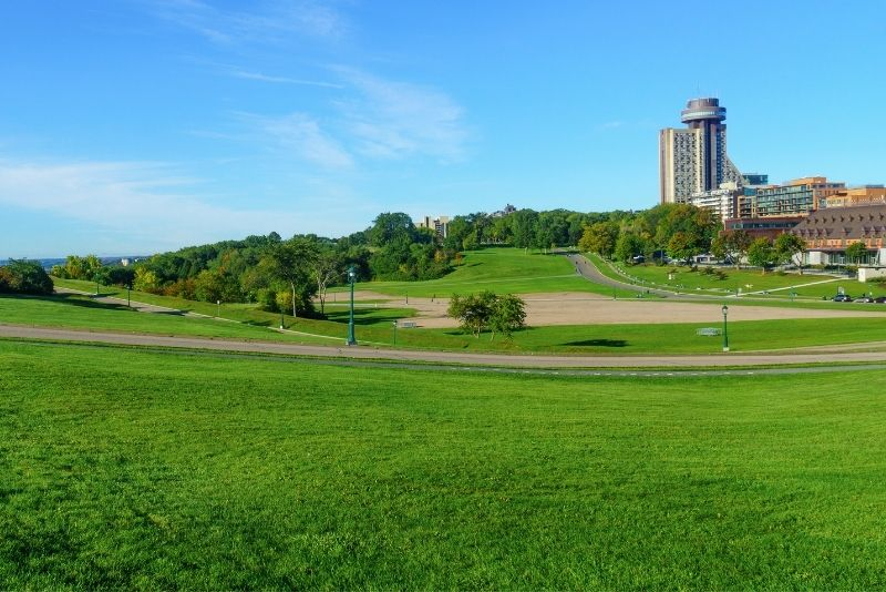 Plains of Abraham at Battlefields Park, Quebec City
