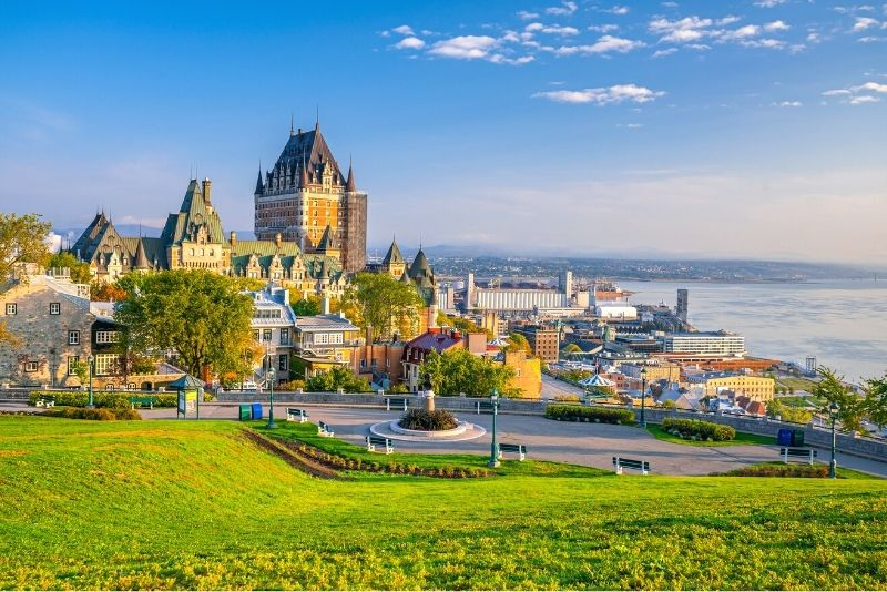 Quebec City day trips from Montreal