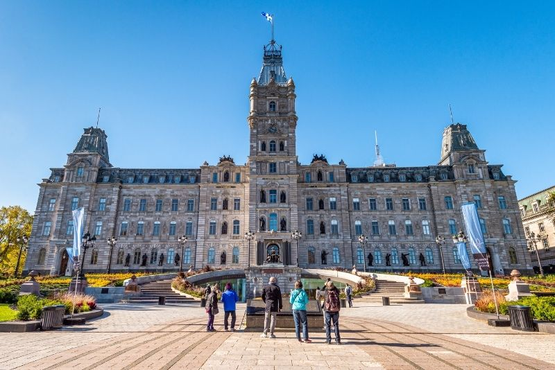 Quebec National Assembly at the Parliament Building, Quebec City