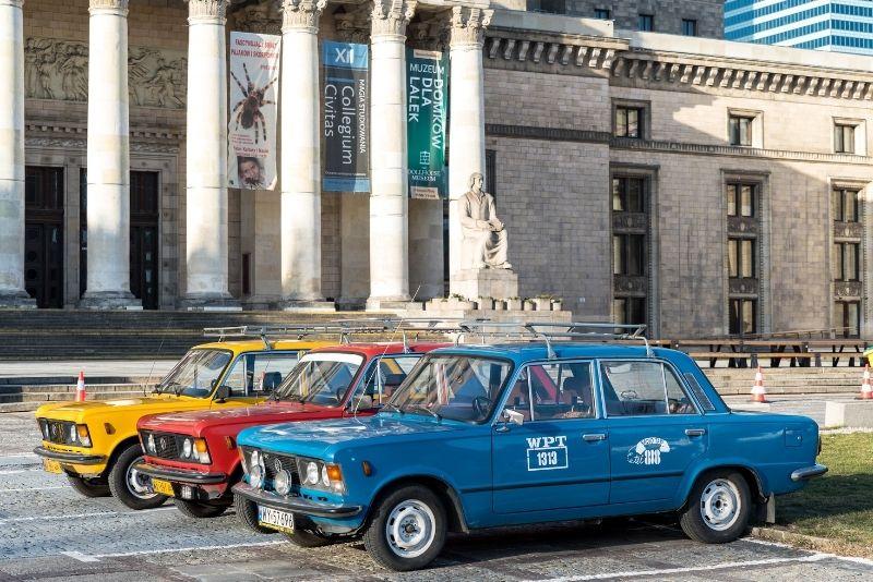 Retro-Touren in Warschau