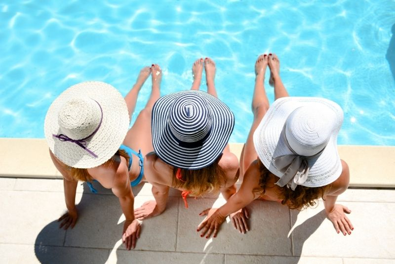Ritz Carlton Resort : Beach club, Sarasota
