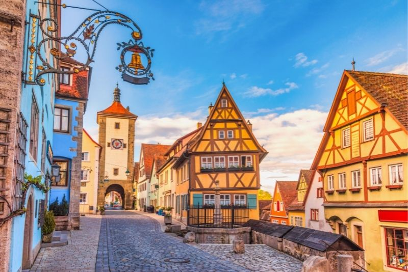 Romantic Road tours from Munich