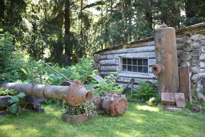Roundhouse at Alyeska Museum, Anchorage