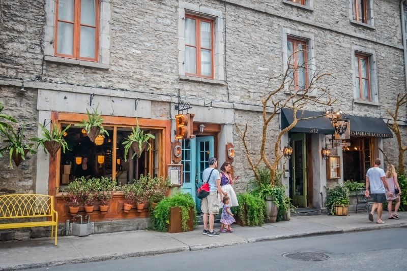Rue Saint-Paul, Montreal