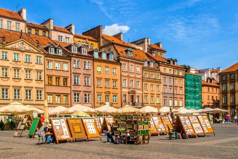 Altstädter Ring, Warschau