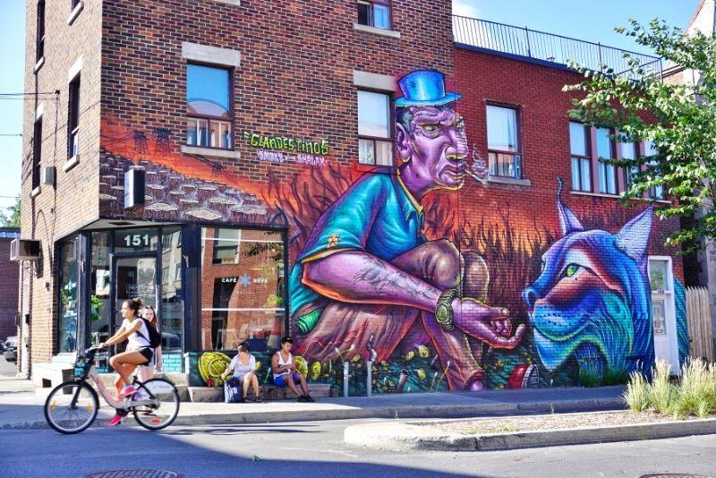 Saint Laurent Boulevard, Montreal
