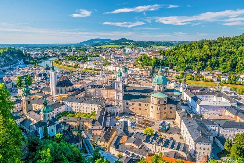 Salzburg day trip from Munich