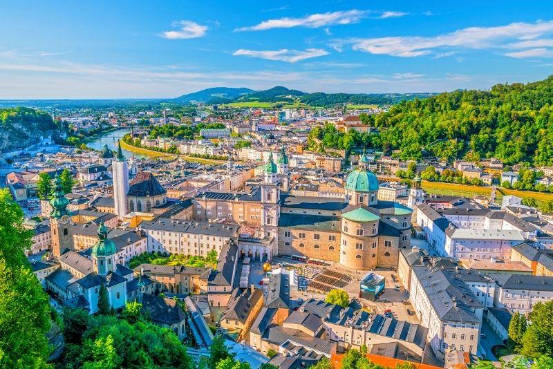 Gita di un giorno a Salisburgo da Vienna