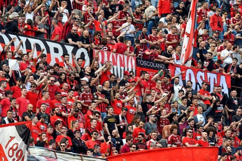 San Siro Stadion, Mailand