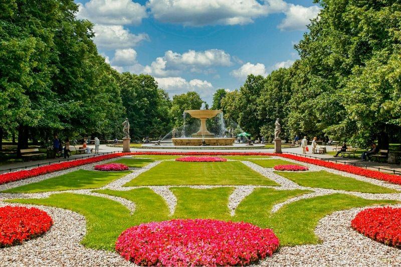 Sächsischer Garten, Warschau