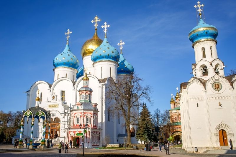 Sergiev Posad day trips from Moscow