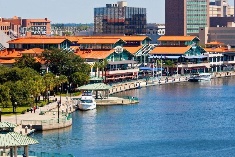 Southbank Riverwalk, Jacksonville