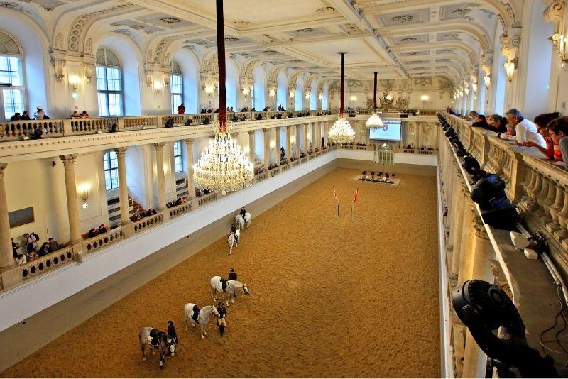 Scuola di Equitazione Spagnola, Vienna