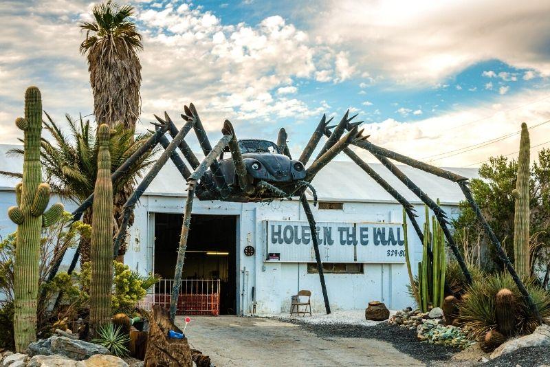 Spider Volkswagen sculpture, Palm Springs