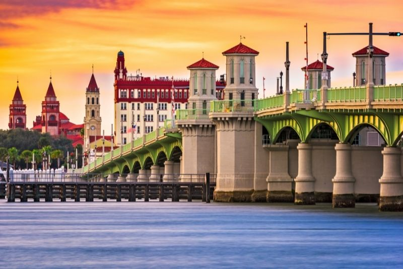 St Augustine day trips from Jacksonville