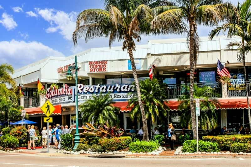 St. Armand's Circle in Sarasota