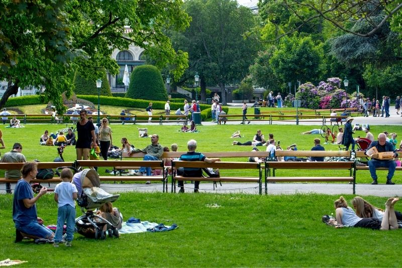 Parco cittadino, Vienna
