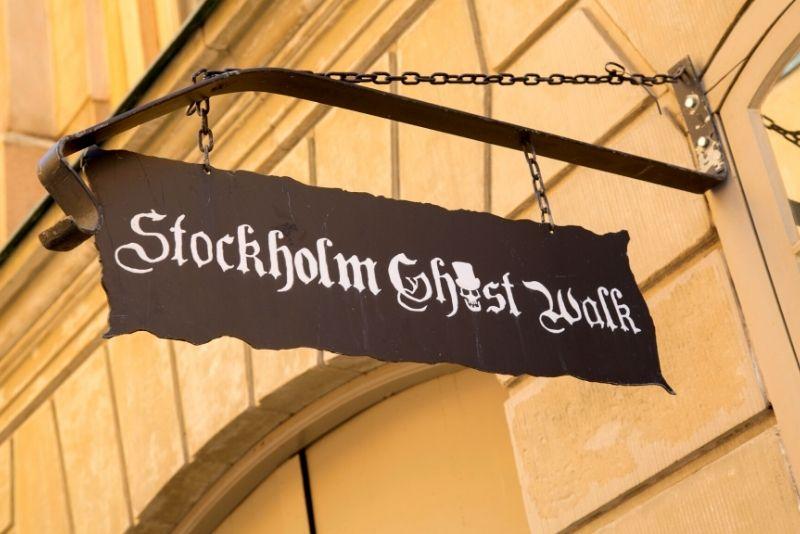 Tour dei fantasmi di Stoccolma