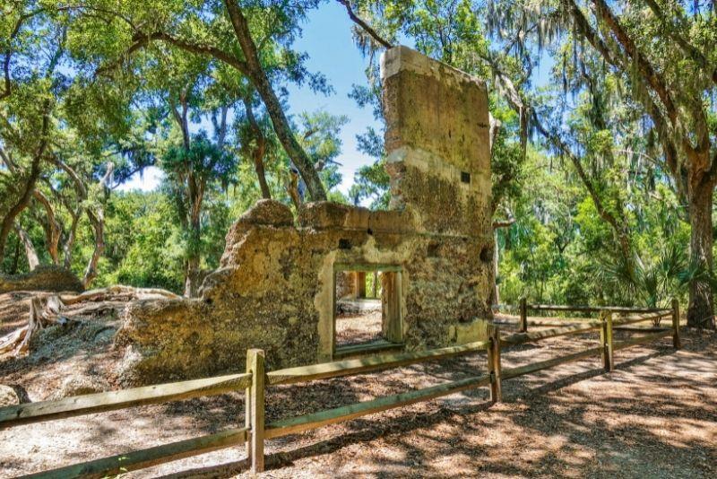 Stoney-Baynard Plantation ruins, Hilton Head Island
