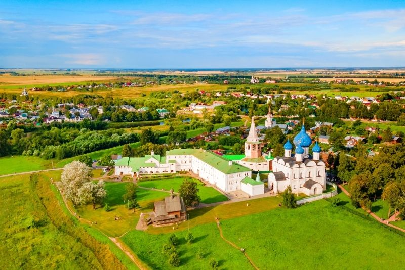 Suzdal and Vladimir day trips from Moscow