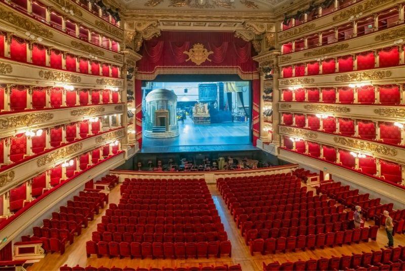 Teatro Alla Scala & Mailänder Scala
