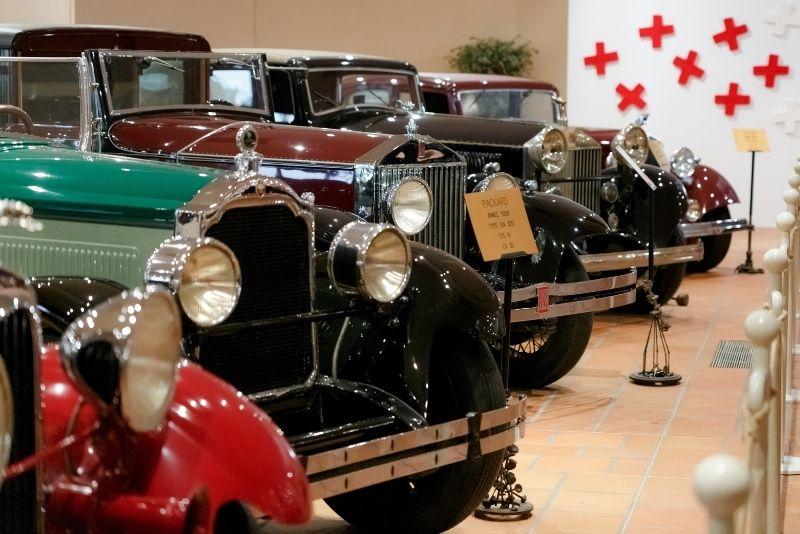 Die Autosammlung von HSH dem Fürsten von Monaco