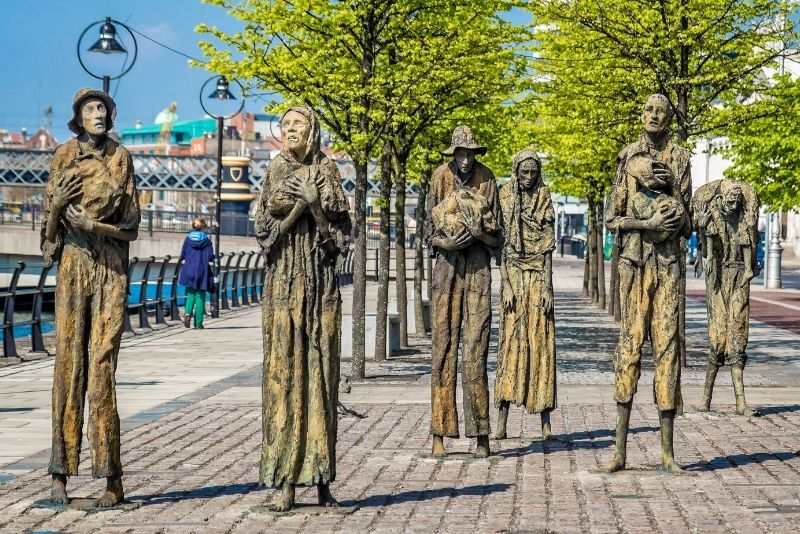 Die Hungersnot-Skulpturen, Dublin