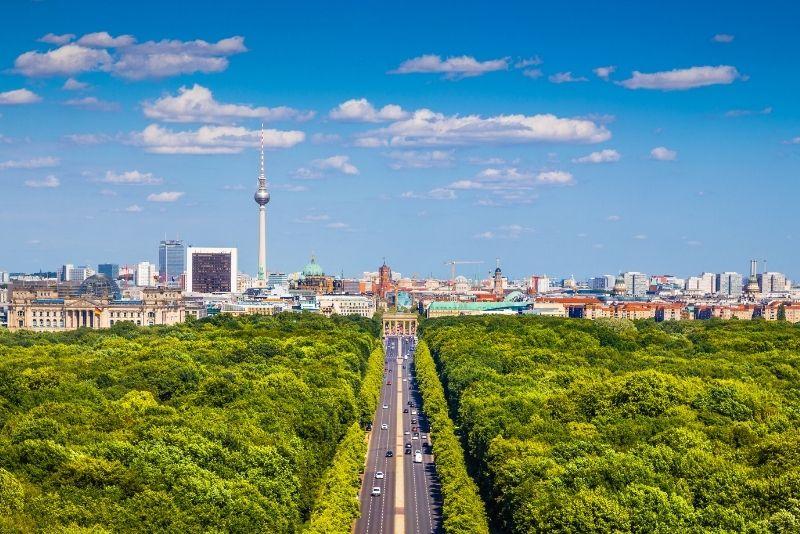 Tiergarten Park, Berlin