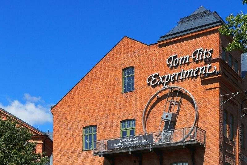 Tom Tits Experiment, Stoccolma