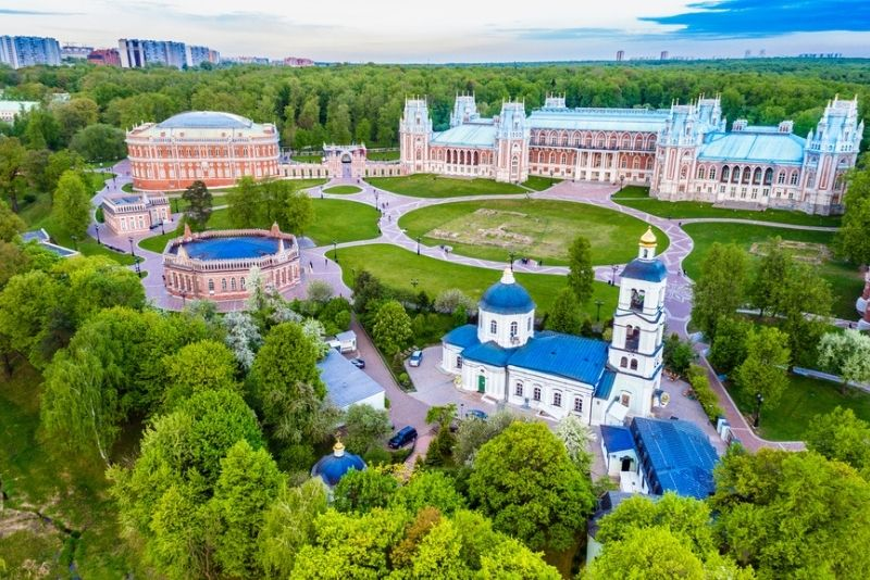 Tsaritsyno Museum & Nature Reserve, Moscow