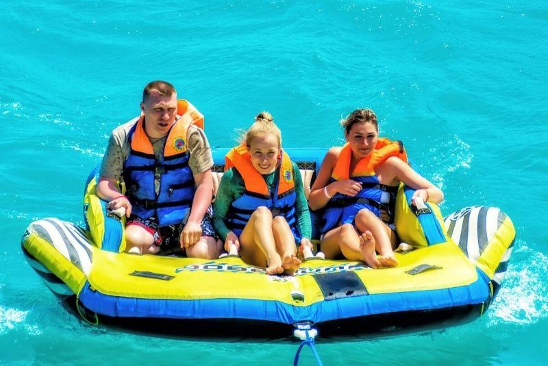 Tubing ride in Aruba