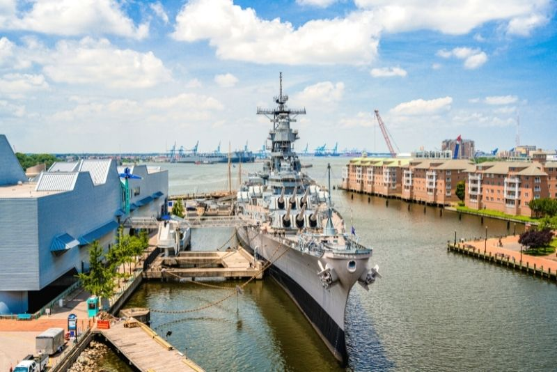 USS Wisconsin, Norfolk, Virginia