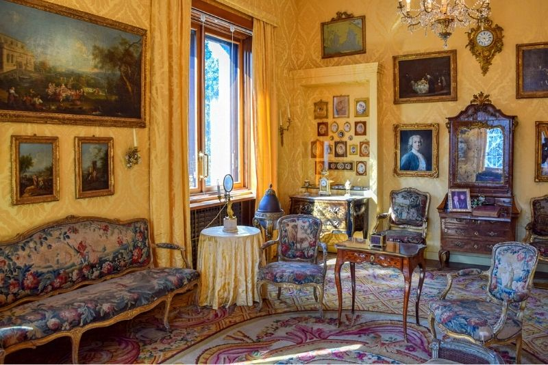 Villa Necchi Campiglio, Mailand