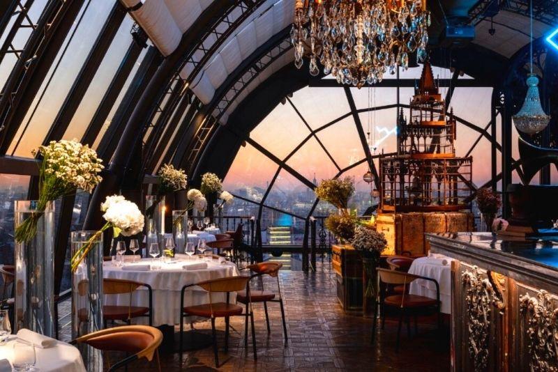 White Rabbit restaurant bar, Moscow