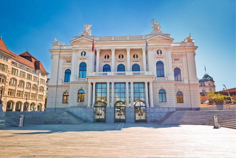 Zürich Opera House, Switzerland