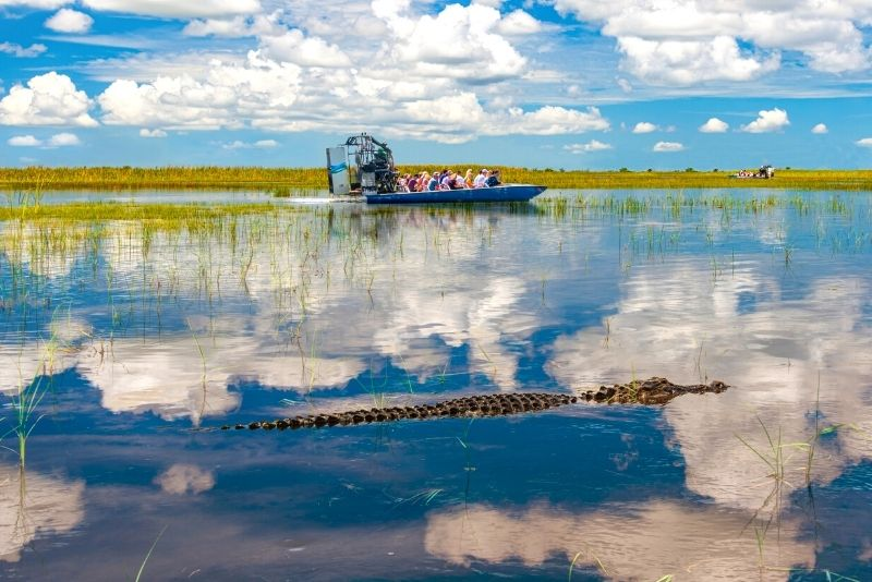 airboat ride in Panama City Beach