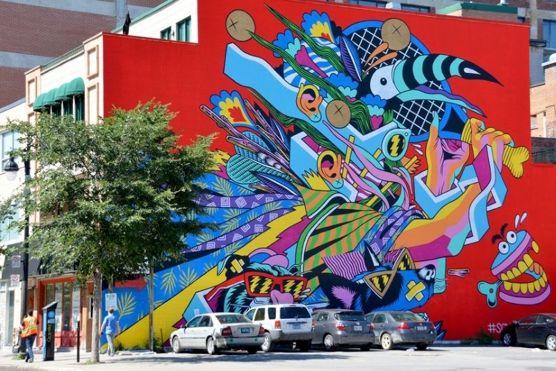 art tours in Montreal