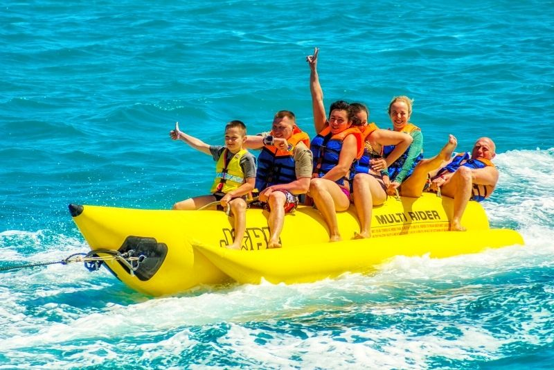 banana boat tour in Destin