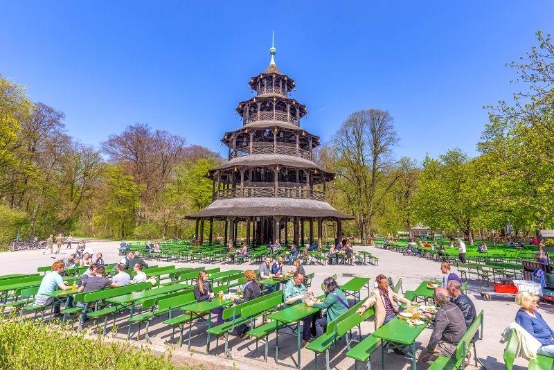 beer gardens in Munich