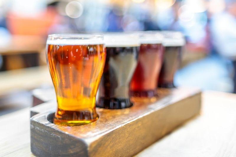 beer tasting in Juneau