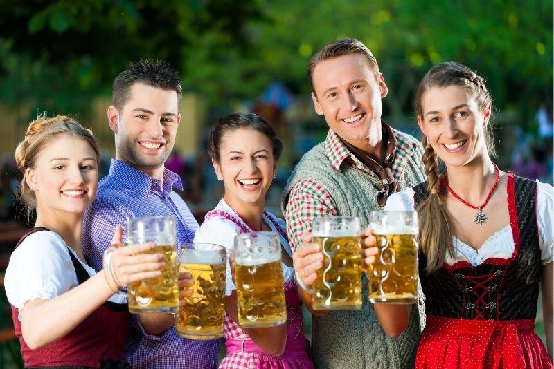 beer tasting in Munich