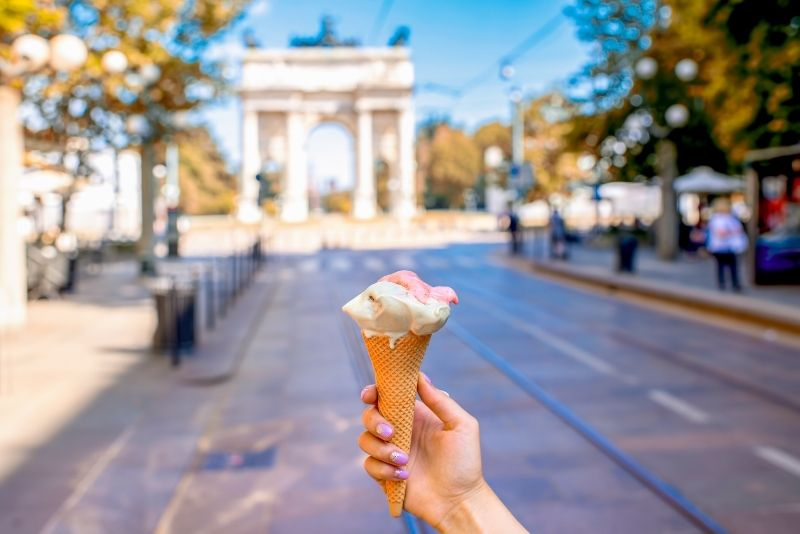 bestes Eis, Mailand