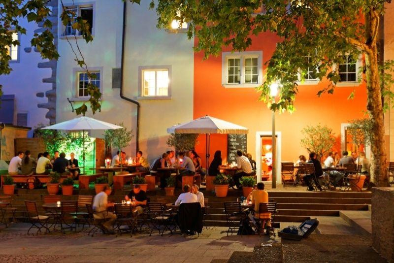 best restaurants and bars in Zurich