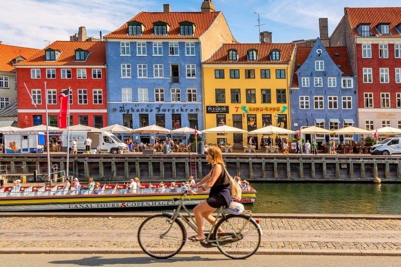 Fahrradtour in Kopenhagen