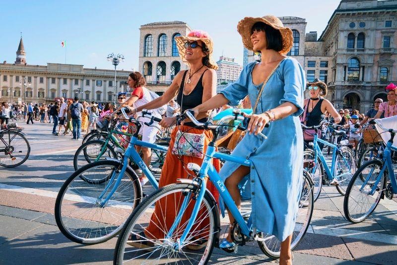 Fahrradtour in Mailand