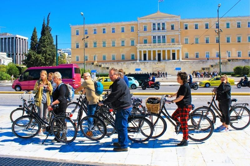 bike tours in Athens