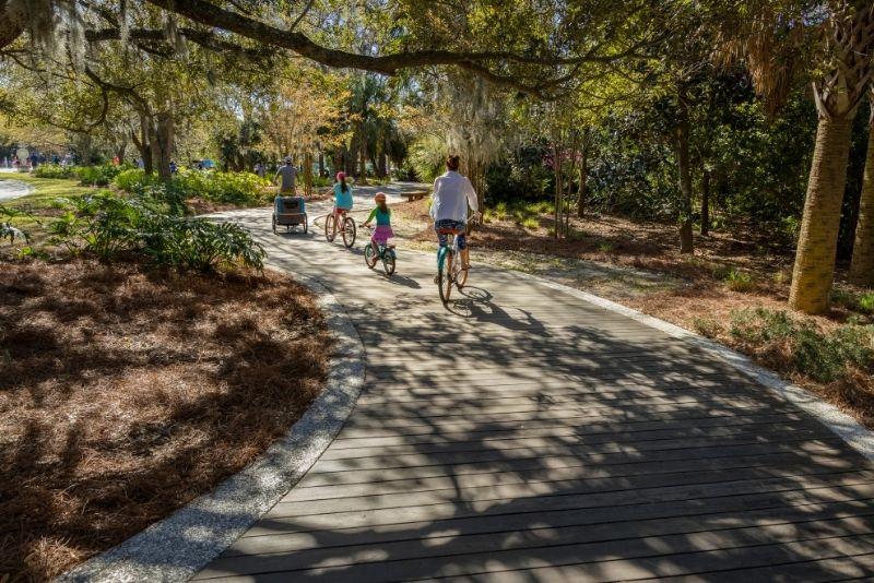 bike tours in Hilton Head Island, South Carolina
